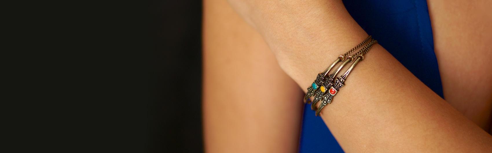 Bijoux finition bronze