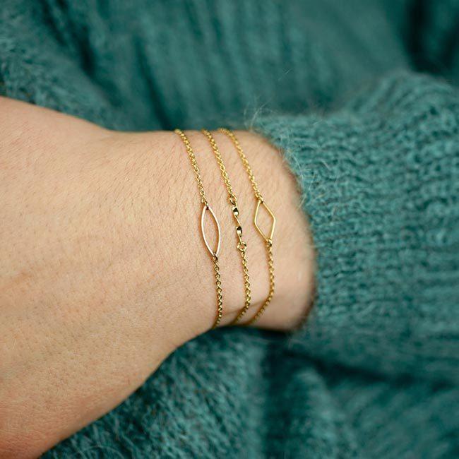 Bracelet «Les discrettes»
