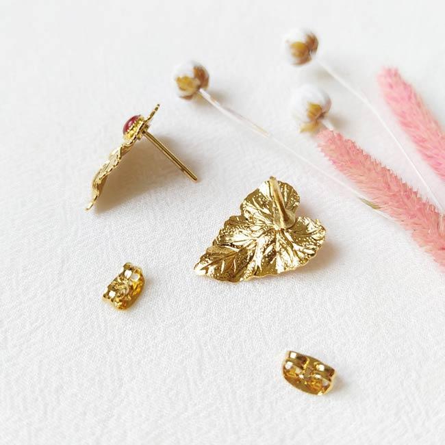 Boucle-d-oreille-fait-à-la-main-pierre-agate-bijoux-de-créateur-fantaisie