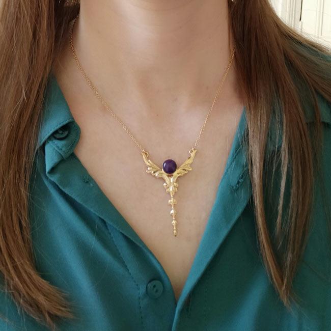 Bijoux-fantaisie-de-créateur-collier-amethyste-fait-main2