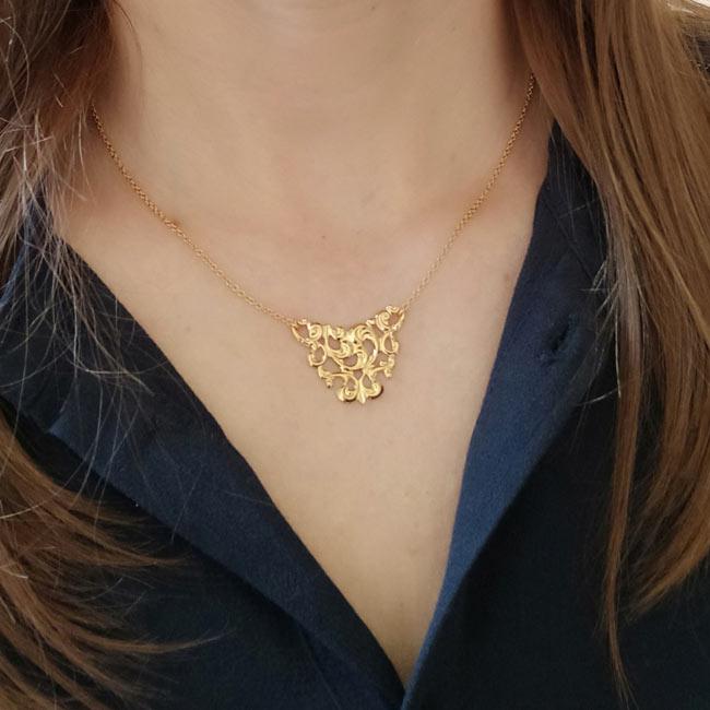 Bijoux-fantaisie-de-créateur-collier-doré-or-fin2