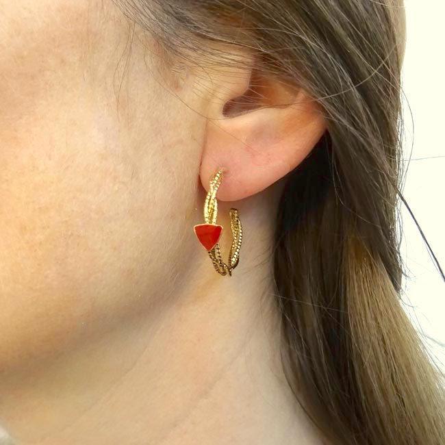 Boucles d'oreilles Marion