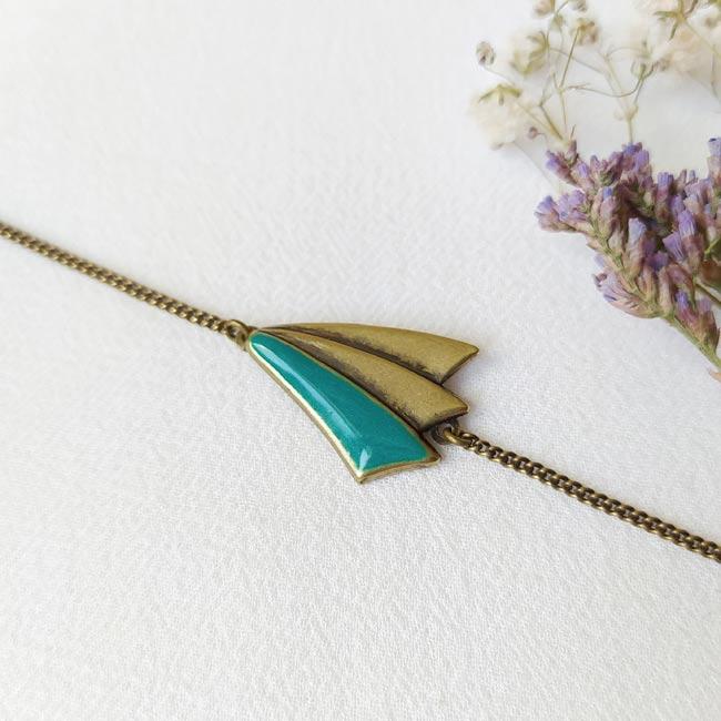 Bijoux-bronze-createur-fantaisie-bracelet-bleu-fait-main-paris