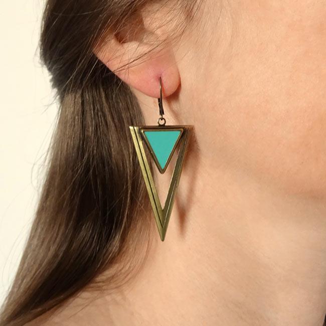 Bijoux-de-créateur-fantaisie-boucles-d-oreilles-bronze-bleu-fait-main